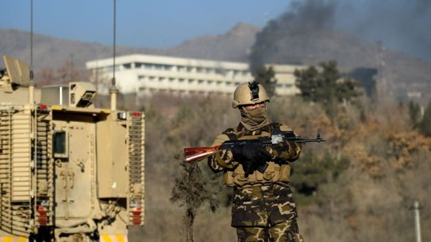 Taliban claims Kabul Intercontinental hotel siege