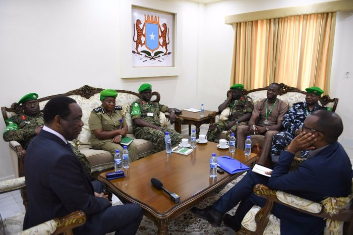 AU Peace Support Operations Division Delegation Visits Somalia