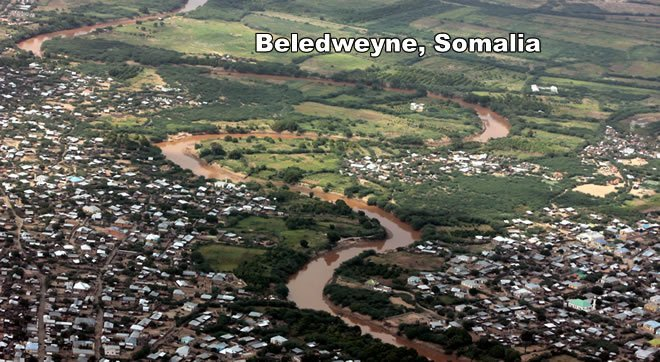 Gunmen Spray Bullets On A passenger Vehicle near Beledweyne