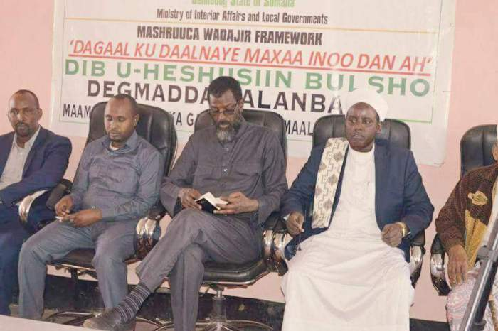 Rival Clans Sign Peace Deal in Galgadud  Region