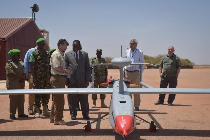 US Government Donates New Aerial Surveillance System to AMISOM