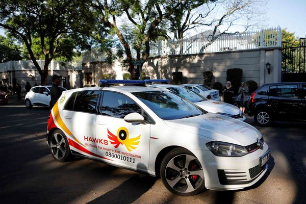 South Africa: Gupta family home raided by police in graft probe