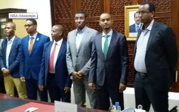 New Somali Intelligence Chief Takes Office