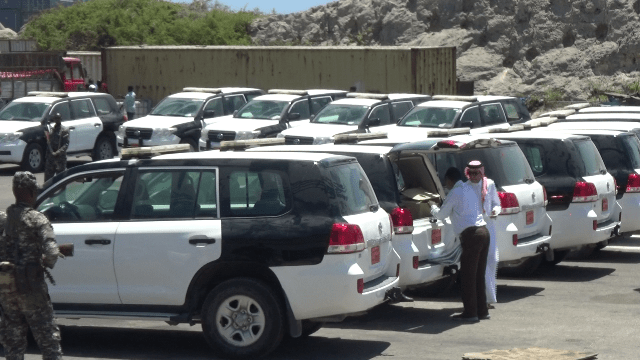 Qatar Donates Vehicles to Federal Government