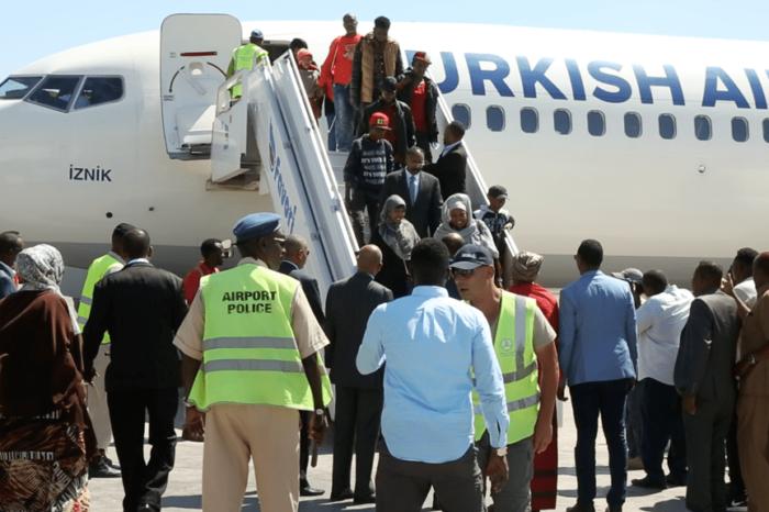 11 Somali Migrants Evacuated From Libya Arrive Mogadishu