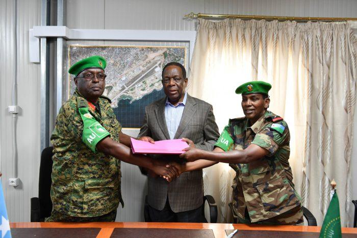 New AMISOM  Commander Pledges Building Somali Forces