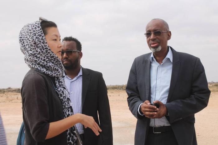 Delegation from International community reaches Dhusamareeb