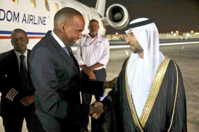 Somali PM reaches Abu Dhabi