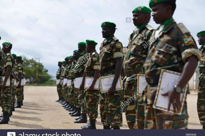 Five Burundian Soldiers Killed in Ambush Attack at Middle Shabelle