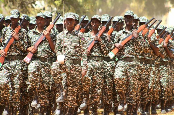 Somali President Commissions Second Batch of Public Defense Recruits
