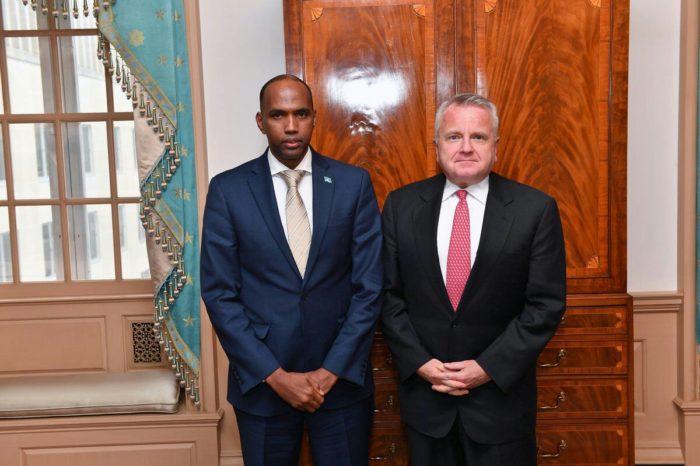Somali PM and U.S Deputy Secretary of State Meet in Washington
