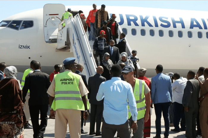 Somali Government to Repatriate Second Batch of Somali Migrants from Libya
