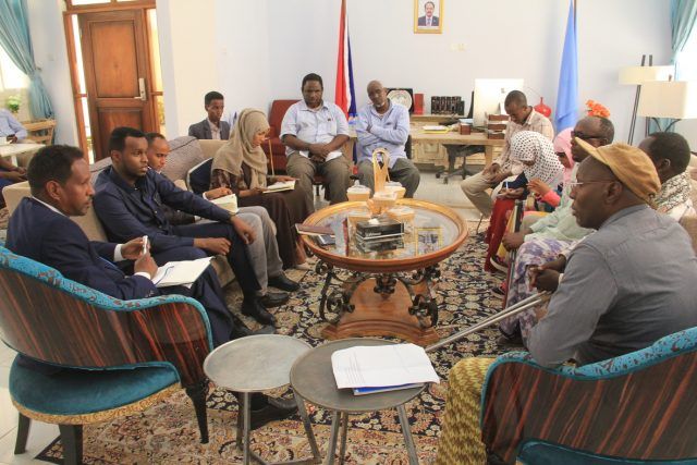 Mogadishu Mayor Pledges Support for People With Disabilities