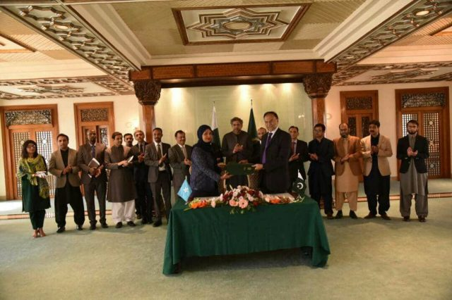 Somalia Signs Database and Registration MoU With Pakistan
