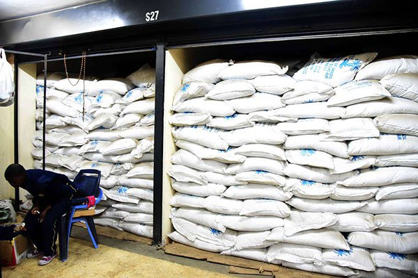 Police seize 400 bags of contraband sugar in Wajir
