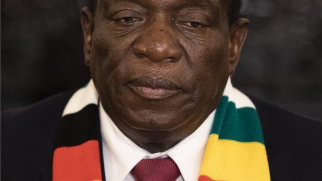 Zimbabwe president Mnangagwa to be inaugurated on Sunday