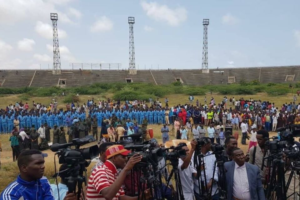 AMISOM hands over Mogadishu Stadium