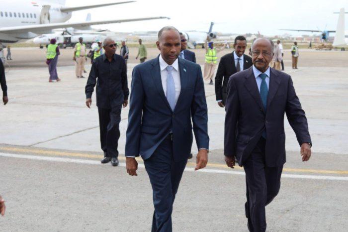 Breaking: Eritrean delegates arrive in Mogadishu for high level talks