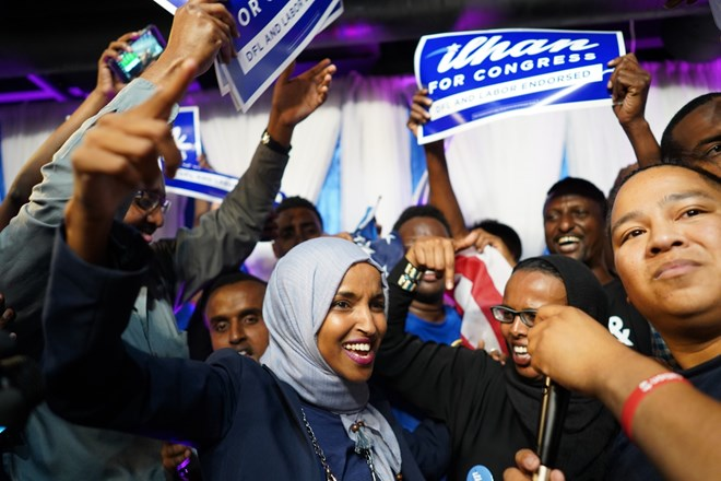 Ilhan Omar could become first Somali-American in Congress after primary win
