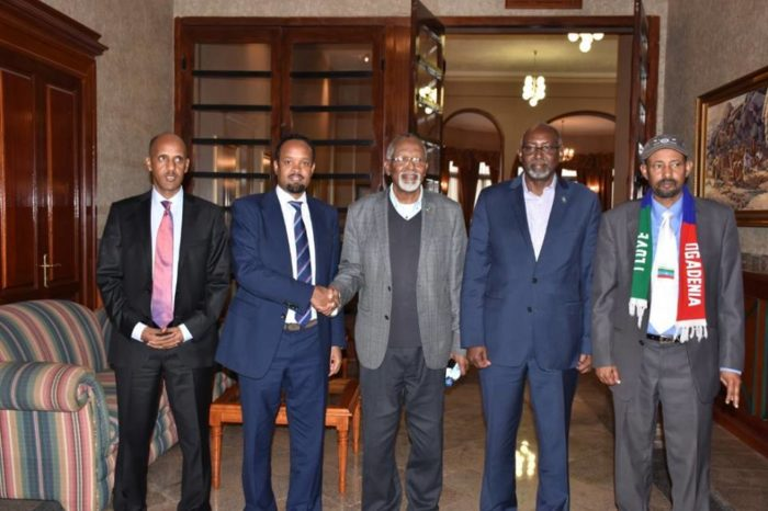 Ethiopia's Somali regional state and ONLF hold peace talks in Asmara