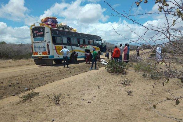 Al-Shabab suspects kill two non-locals in Garissa bus ambush