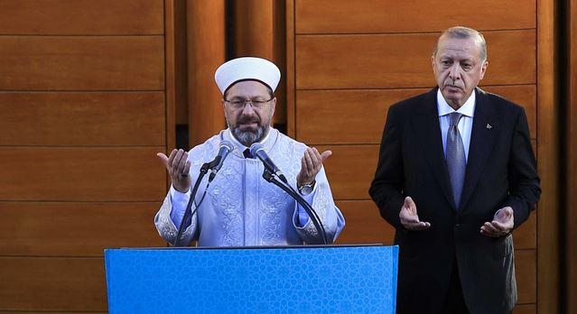 Erdogan opens huge mosque in Germany amid rival rallies