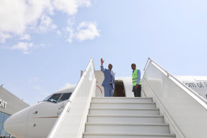 Somali Prime minister leading  a delegation jets off to Saudi Arabia