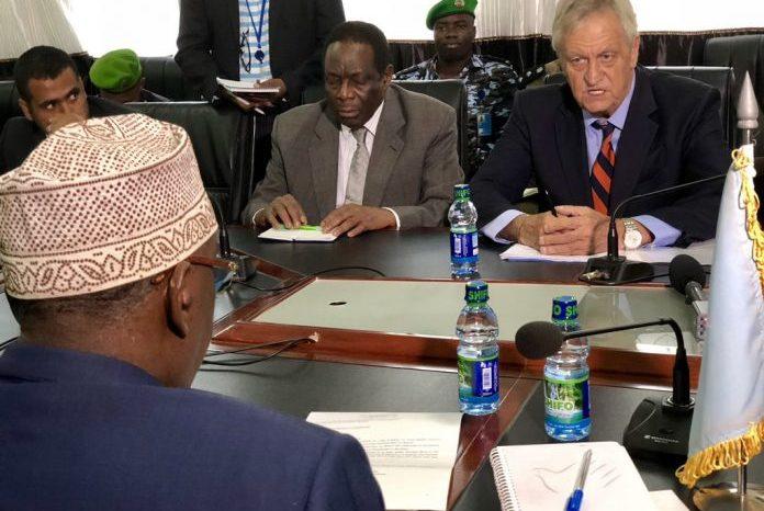 UN, AU envoys meet South West president in Baidoa