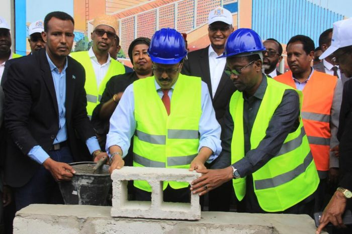Somalia rebuilds the National Theatre to resume its operation after over 25 years hiatus