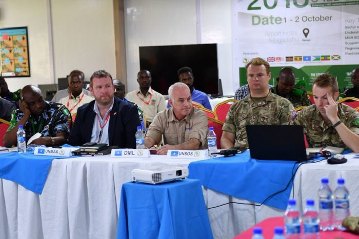 AMISOM, Partners Meet To Devise Strategies on Countering Potent Threat From IEDs