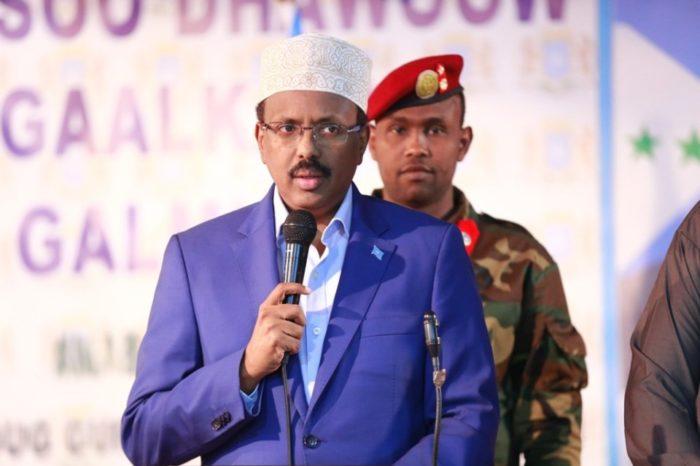 President Farmajo calls for emergency aid for victims of Baidoa bomb blasts