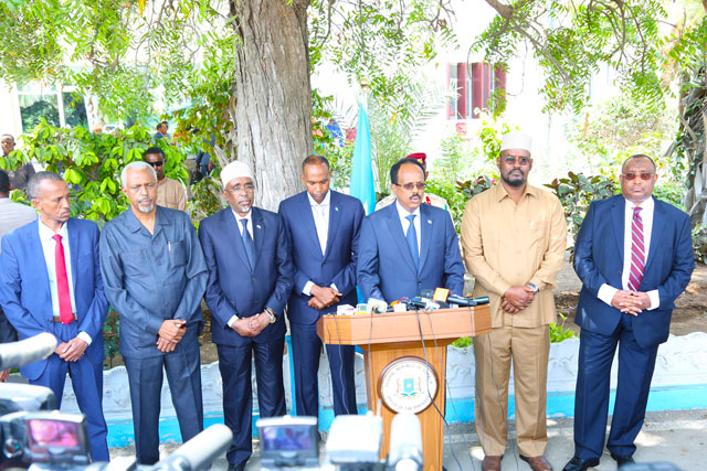 Somali government repeats its call for a meeting to end political crisis
