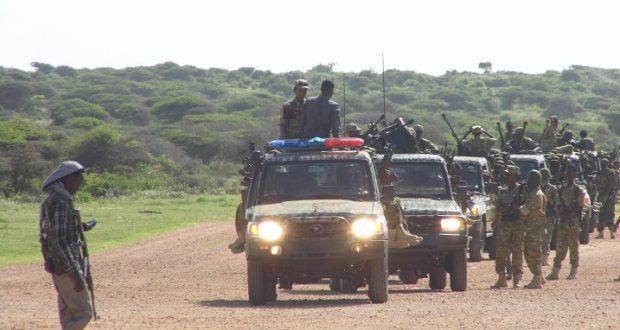 Somali army kills 5 Al-Shabaab fighters in southern region