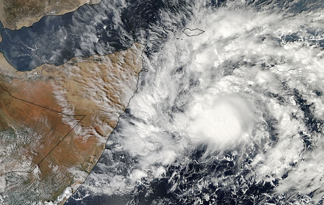 Somali government warns of new tropical storm with rains