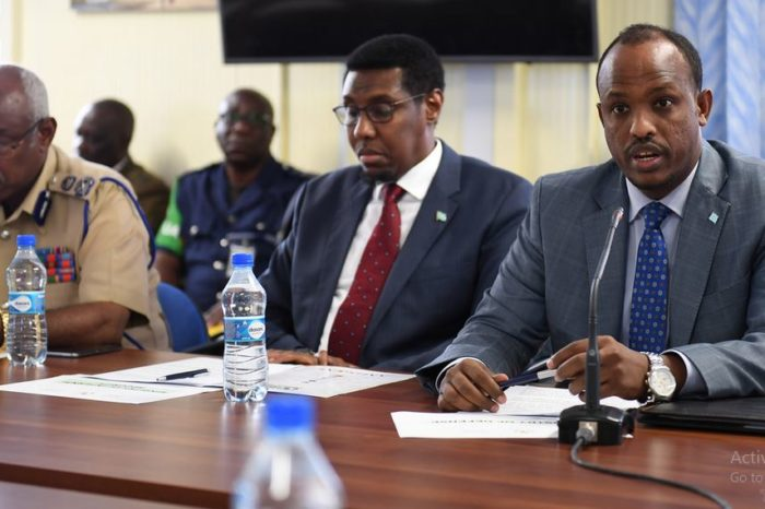AMISOM, Somali government and key stakeholders meet to review progress in the security sector