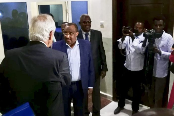 UN envoy reaches Garowe town to hold talks with Puntland leader