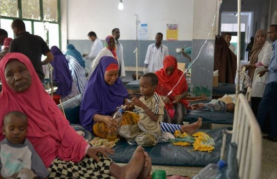 WHO seeks to contain cholera outbreak in Somalia amid decline in cases