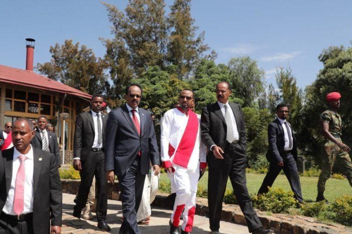 Somali president arrives in Ethiopia