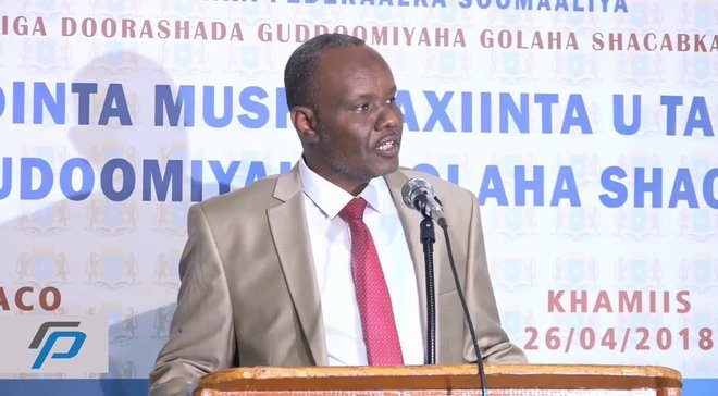 Somali Energy minister resigns, launches presidential bid
