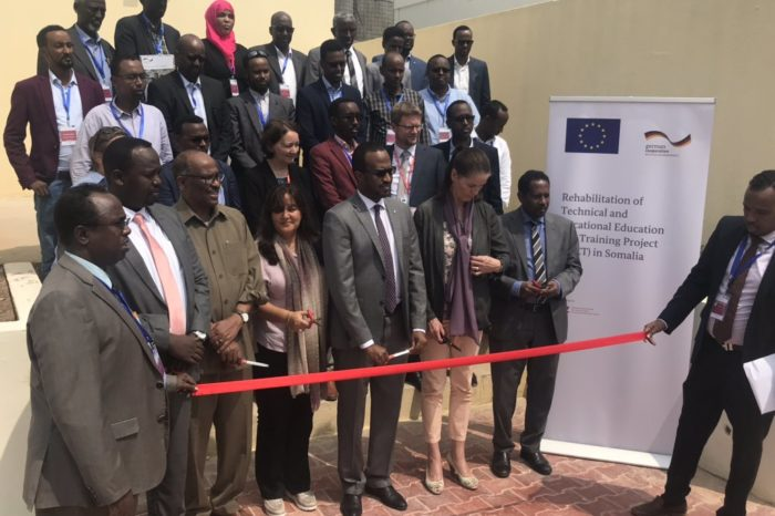 EU launches Vocational Training Project in Somalia