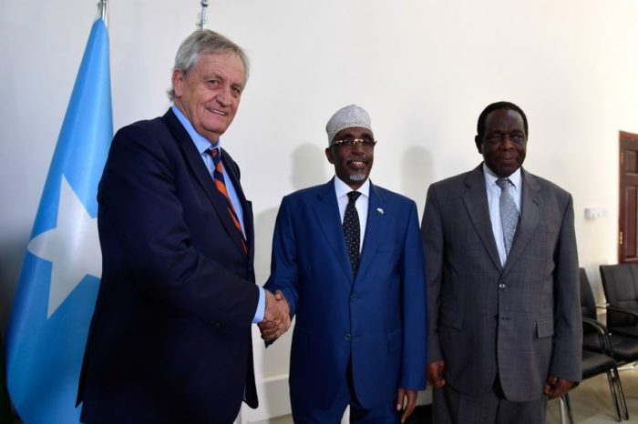 UN envoy repeats call for collaboration to solve dispute between federal and state authorities