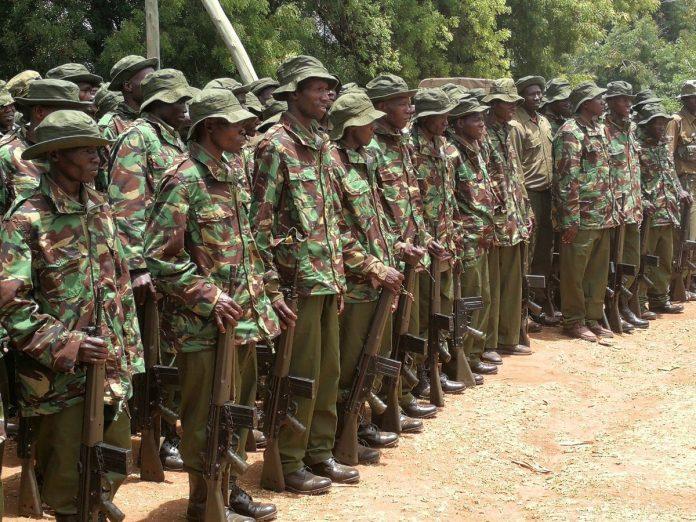 Kenya recruited over 600 Police Reservists to operate along Kenya-Somalia border
