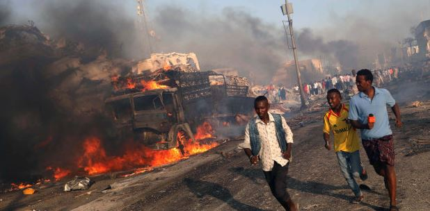 Somalia ranked sixth in Africa's most terrorised countries in 2018